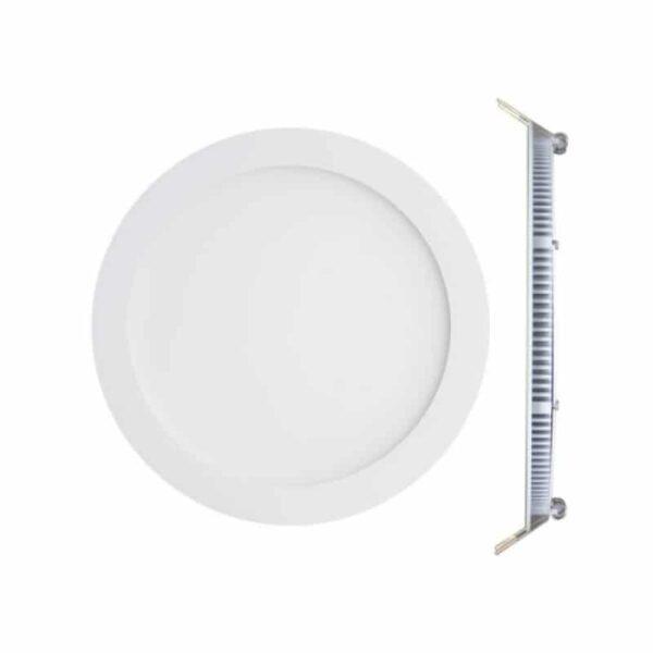 LED Πάνελ 24W 85-265VAC Λευκό Ημέρας