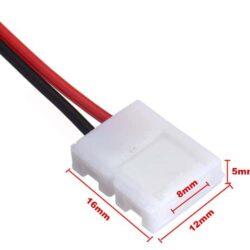 Διπλός connector για 4.8W με καλώδιο 15cm