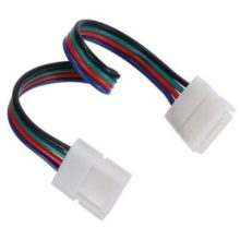 Διπλός connector για RGB 7.2W & 14.4W με καλώδιο 15cm