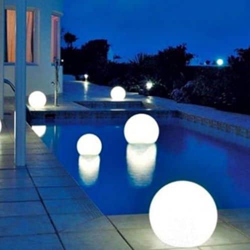 Επαναφορτιζόμενη μπάλα LED αδιάβροχη IP68