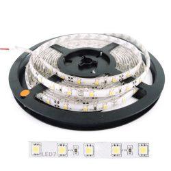 Ταινία LED 14.4W 60LED 5050 12VDC Θερμό Λευκό IP65