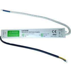 Αδιάβροχο Τροφοδοτικό 30W 12VDC IP67