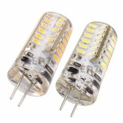 Λάμπα Σιλικόνης LED G4 3.5 Watt 12 VDC Λευκό Ημέρας