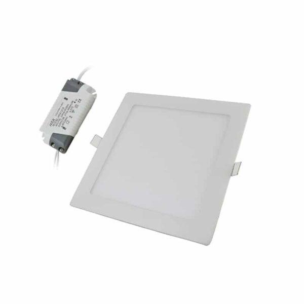 Τετράγωνο Πάνελ LED 18W 85-265VAC Λευκό Ημέρας