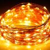 Αδιάβροχα Λαμπάκια LED 4Watt Θερμό Λευκό με μπαταρία