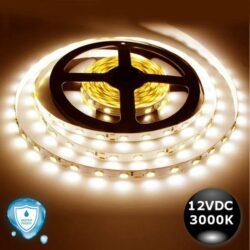 Ταινία LED 7.2W 30LED 5050 12VDC IP65