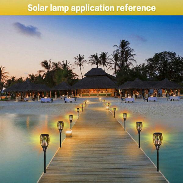Ηλιακό Φωτιστικό Κήπου Πυρσός