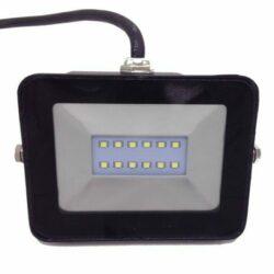 Προβολέας LED 10 Watt Slim PAD 230 Volt Θερμό Λευκό