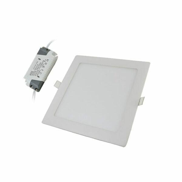 Πάνελ LED 18W 85-265VAC Τετράγωνο Ψυχρό Λευκό