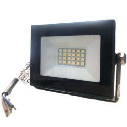Προβολέας LED 10 Watt Slim PAD 230 Volt Λευκό Ψυχρό