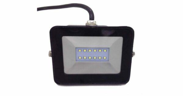 Προβολέας LED 10 Watt Slim PAD 230 Volt Λευκό Ημέρας
