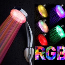 Τηλέφωνο μπάνιου με LED RGB