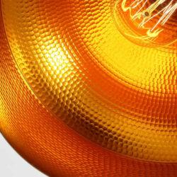 ΣΕΤ 3 Κρεμαστά Μεταλλικά Φωτιστικά Καμπάνα