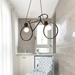 Κρεμαστό Φωτιστικό Οροφής Bicycle
