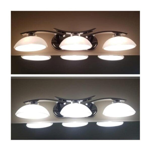 Λάμπα LED G9 6W 240VAC Θερμό Λευκό