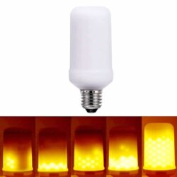 Διακοσμητική λάμπα LED με εφέ φλόγας 5W E27