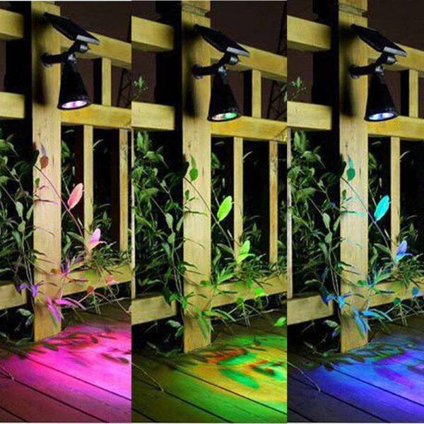 Ηλιακό Σποτ κήπου RGB