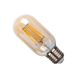LED E27 4Watt Filament Λευκό Θερμό Dimmable