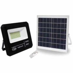 Ηλιακός Προβολέας LED με αισθητήρα & χρονοδιακόπτη 100Watt