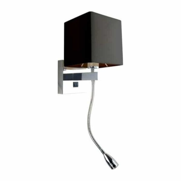 Απλίκα Τοίχου E27 Με LED Spot 3W Θερμό Λευκό