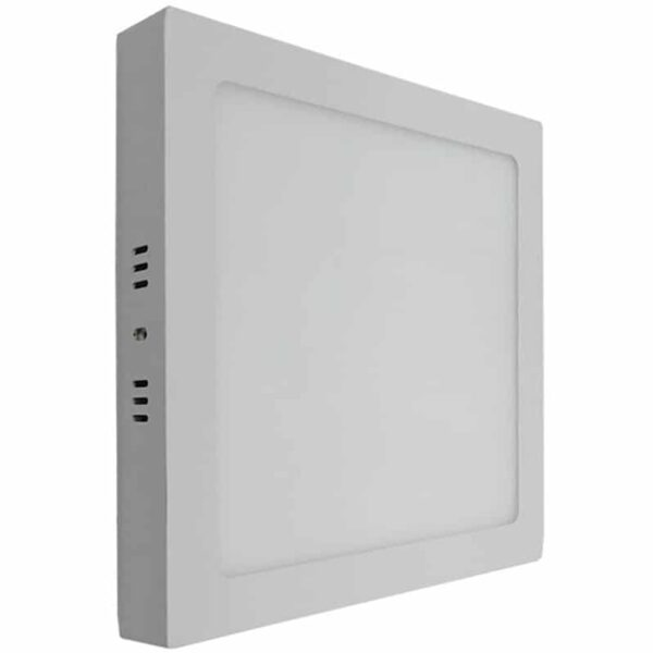Εξωτερικό Πάνελ LED 20W Τετράγωνο Λευκό Ψυχρό