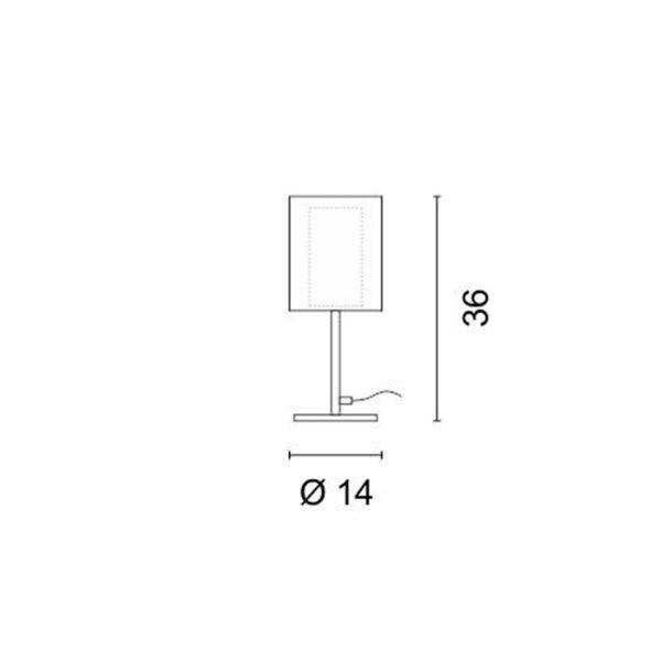 Επιτραπέζιο Φωτιστικό Net Ε14
