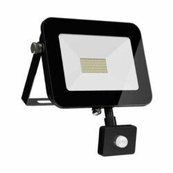 Προβολέας LED 50Watt Ψυχρό Λευκό με Αισθητήρα Κίνησης