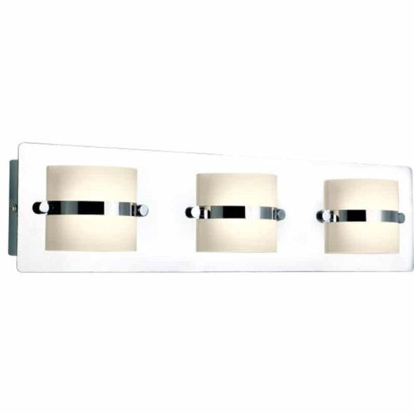 Φωτιστικό Λουτρού LED 3x5w Λευκό Ημέρας