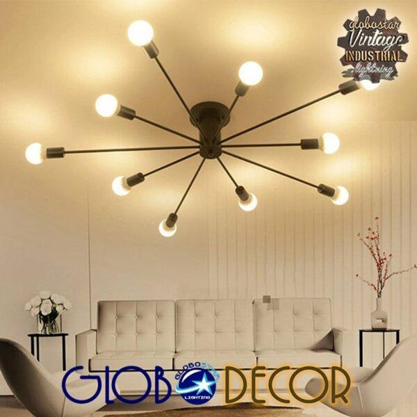 Φωτιστικό Οροφής Μεταλλικό OLINDA