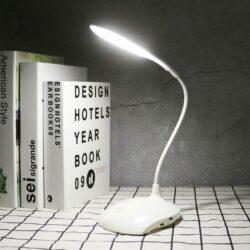 Φωτιστικό Γραφείου LED Εύκαμπτο Λευκό