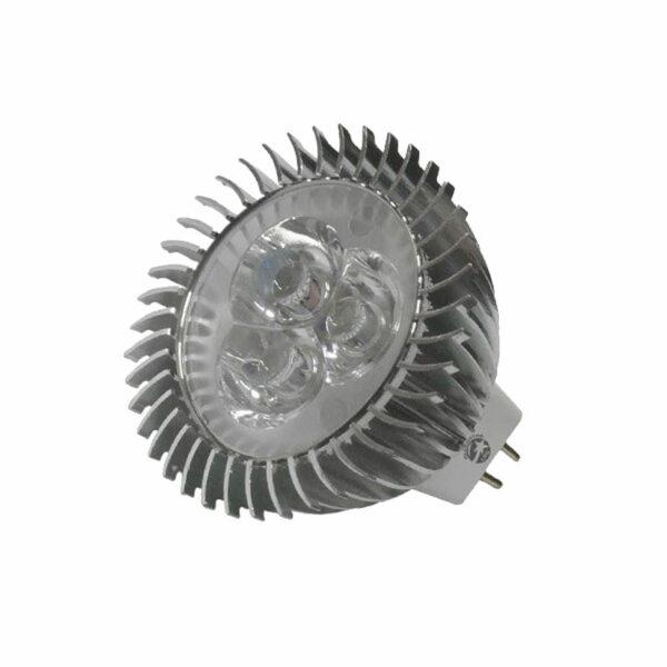 LED Σποτ MR16 3X1W 12VDC Ψυχρό Λευκό