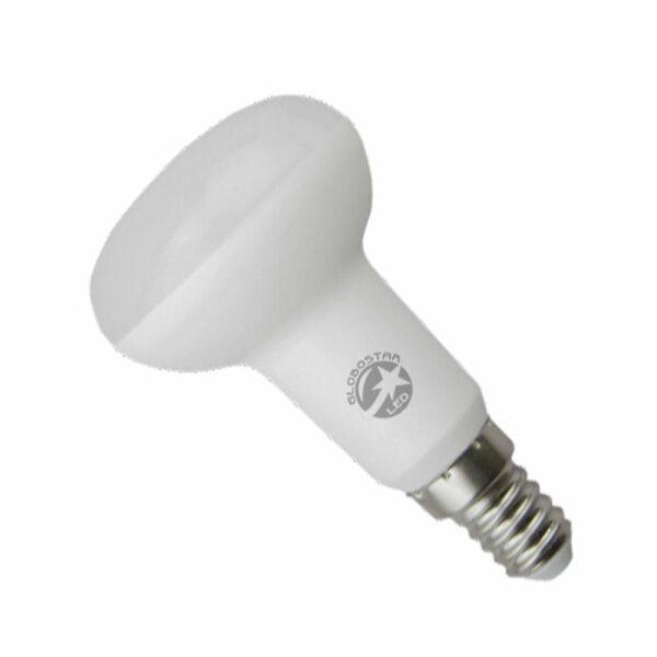 Λαμπτήρας LED R50 με Βάση E14 8 Watt 230v Ψυχρό