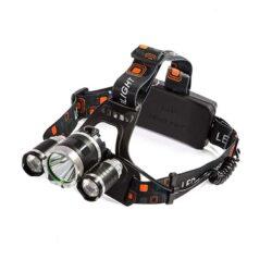Φακός Κεφαλής LED 3000 Lumen 8000Mah