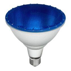 Λάμπα LED E27 PAR38 15Watt IP65 Μπλέ