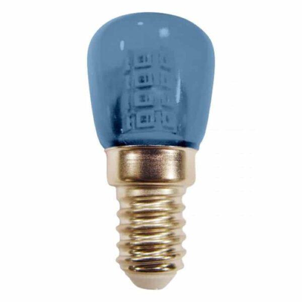 Λαμπάκι Νυκτός - Ψυγείου LED E14 1,5 Watt Μπλέ