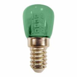 Λαμπάκι Νυκτός - Ψυγείου LED E14 1,5 Watt Πράσινο