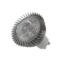 LED Σποτ GU10 3X1W Θερμό Λευκό Dimmable