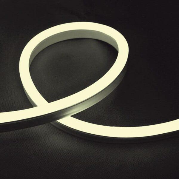 LED Neon Flex 12W 24V IP65 Λευκό Θερμό Dimmable