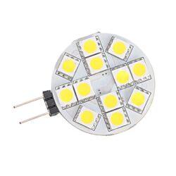 Λάμπα LED 2.4watt G4 12SMD 12VDC Ψυχρό Λευκό