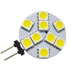 Λάμπα LED 2watt G4 9SMD 12VDC Ψυχρό Λευκό