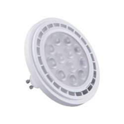 LED Λάμπα GU10 AR111 12W Θερμό Λευκό Dimmable