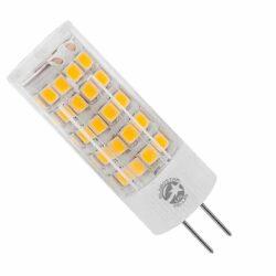 Λάμπα LED G4 5 Watt 12-24 Volt AC-DC Θερμό Λευκό GloboStar 07437