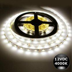 Ταινία LED 7.2W 30LED 5050 12VDC Λευκό Ημέρας IP20