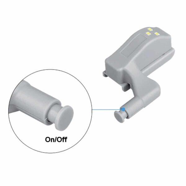 Φωτάκι Ντουλάπας LED για Μεντεσέ 2Watt με Διακόπτη
