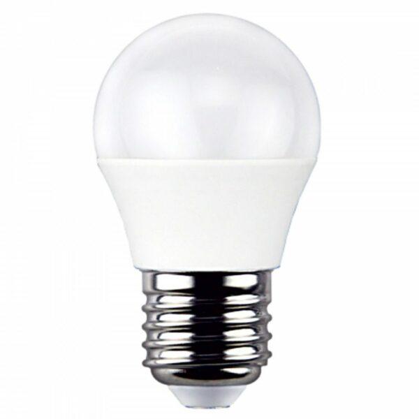 Γλομπάκι LED E27 6W 230V Λευκό Ημέρας