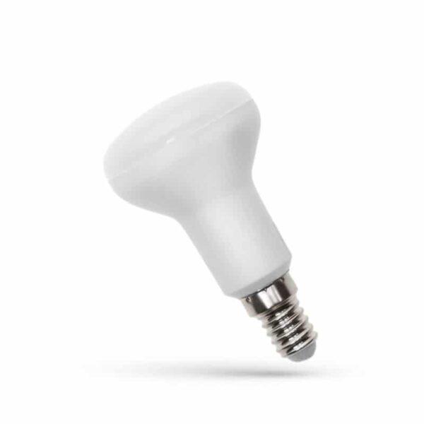 Λαμπτήρας LED R50 E14 6W 500Lm 230v Θερμό Λευκό