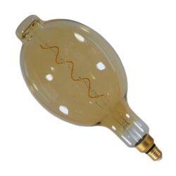 LED E27 10W Filament Λευκό Θερμό Dimmable BT180
