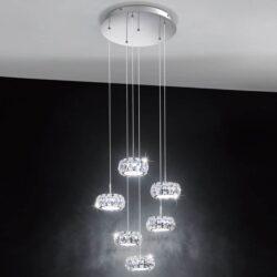 Crystal Φωτιστικό 6X5W EGLO 39008