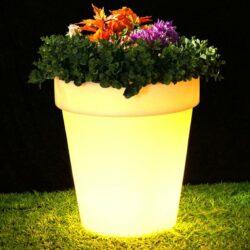 LED Γλάστρα RGB 70cm Επαναφορτιζόμενη