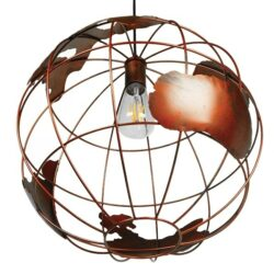 Κρεμαστό Φωτιστικό Μεταλλικό Φ40 EARTH